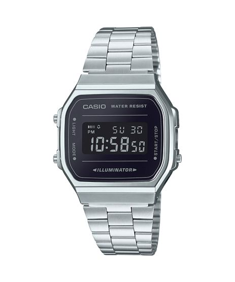 Relogio-Digital-Casio-Unissex---A168WEM1DF-Prateado-9804325-Prateado_1