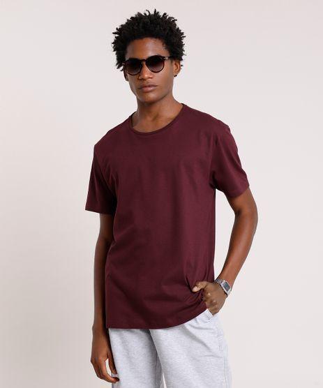 Camiseta-Masculina-Basica-Manga-Curta-Gola-Careca-Roxa-8472740-Roxo_1