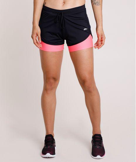 Short-Feminino-Esportivo-Ace-Running-com-Sobreposicao-Neon-Preto-9803556-Preto_1