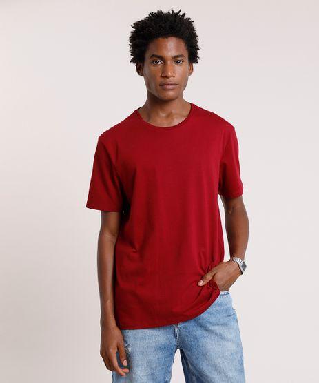 Camiseta-Masculina-Basica-Manga-Curta-Gola-Careca-Vinho-8472740-Vinho_1