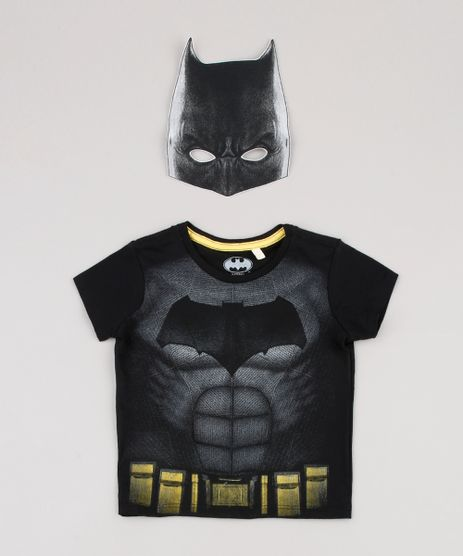 Camiseta-Infantil-Carnaval-Batman-Manga-Curta---Mascara-Preta-9838320-Preto_1