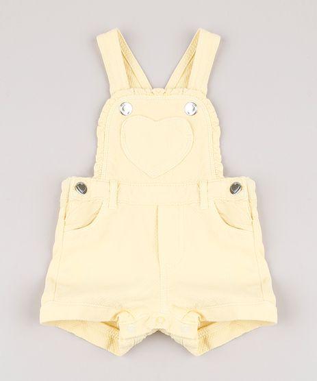 Jardineira-Infantil-em-Piquet-com-Bolso-de-Coracao-e-Babado-Amarela-9820573-Amarelo_1