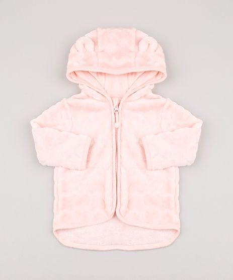 Blusao-Infantil-em-Plush-Coracoes-com-Capuz-e-Orelhinhas-Rose-9688966-Rose_1