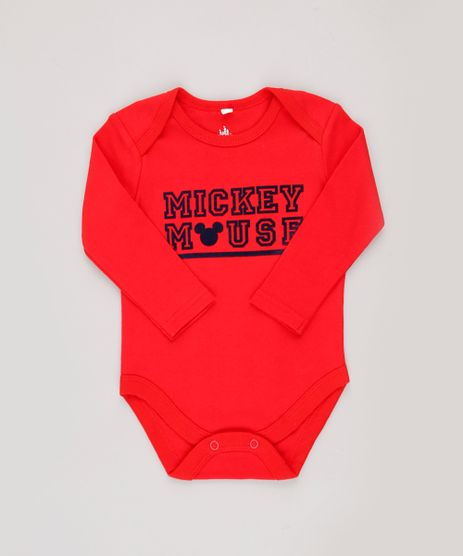 Body-Infantil-Mickey-Mouse-Manga-Longa-Vermelho-9685276-Vermelho_1