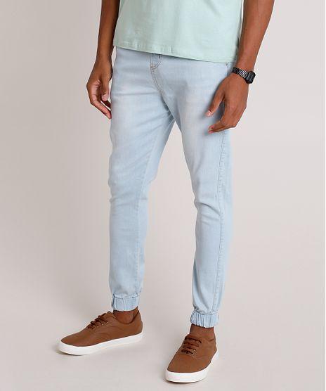 Calca-Jeans-Masculina-Jogger-com-Cordao-Azul-Claro-9862061-Azul_Claro_1