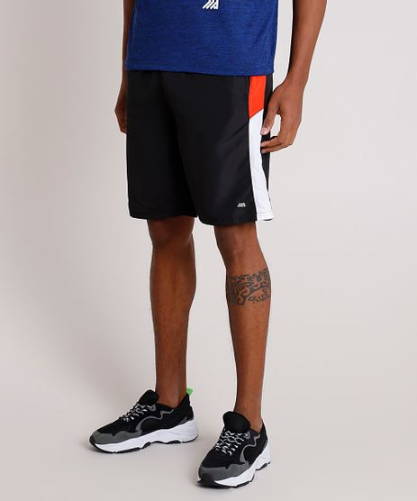 Bermuda-Masculina-Esportiva-Ace-com-Recorte-Preta-8457986-Preto_1_1
