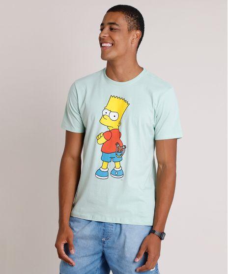 Camiseta-Masculina-Bart-Simpson-Manga-Curta-Gola-Careca-Verde-Claro-9825163-Verde_Claro_1