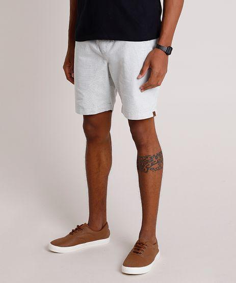 Bermuda-Masculina-Texturizada-com-Cordao-Cinza-Claro-9856221-Cinza_Claro_1