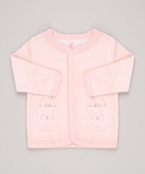 Cardigan-Infantil-em-Plush-com-Bolsos-de-Ursinhos-Rose-9688476-Rose_1