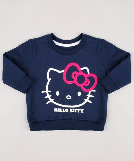 Blusao-Infantil-Hello-Kitty-em-Moletom-Felpado-Azul-Marinho-9826543-Azul_Marinho_1