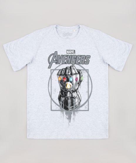 Camiseta-Infantil-Manopla-do-Infinito-Os-Vingadores-Manga-Curta-Cinza-Mescla-Claro-9857847-Cinza_Mescla_Claro_1