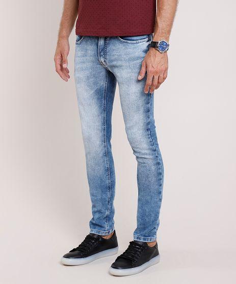 Calca-Jeans-Masculina-Skinny--Azul-Medio-9859783-Azul_Medio_1