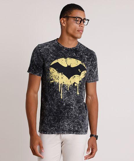 Camiseta-Masculina-Batman-Marmorizada-Manga-Curta-Gola-Careca-Preta-9737515-Preto_1