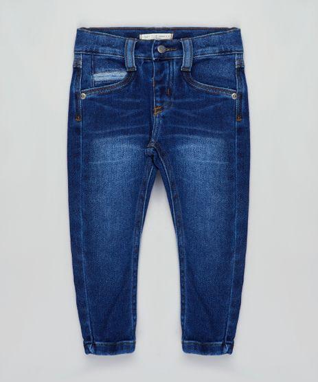 Calca-Jeans-Infantil-em-Moletom-Azul-Escuro-9760434-Azul_Escuro_1