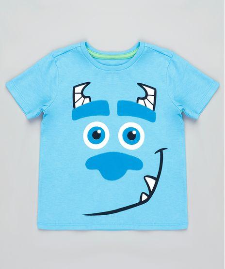 Camiseta-Infantil-Carnaval-Sulley-Monstros-S-A--Manga-Curta-Azul-Claro-9837170-Azul_Claro_1