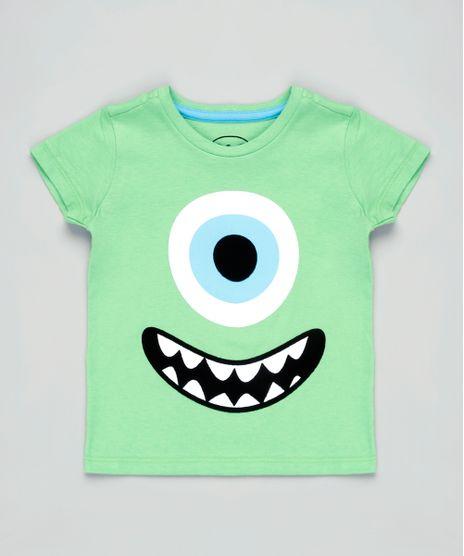 Camiseta-Infantil-Carnaval-Mike-Monstros-S-A--Manga-Curta-Verde-9837169-Verde_1