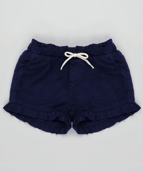 Short-de-Sarja-Infantil-com-Babados-e-Laco-Azul-Marinho-9829316-Azul_Marinho_1