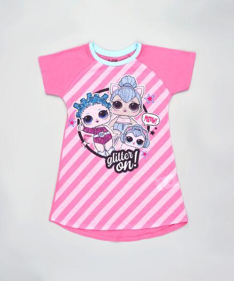 Camisola-Infantil-LOL-Surprise-Manga-Curta-Rosa-9844005-Rosa_1