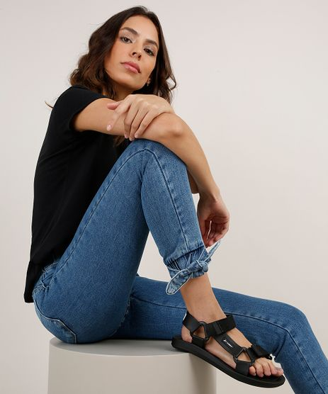 Calca-Jeans-Feminina-Sawary-Jogger-Cintura-Alta-Azul-Medio-9896005-Azul_Medio_1