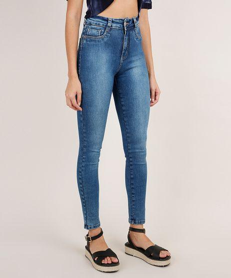 Calca-Jeans-Feminina-Sawary-Super-Skinny-360-Cintura-Alta-Azul-Medio-9941547-Azul_Medio_1