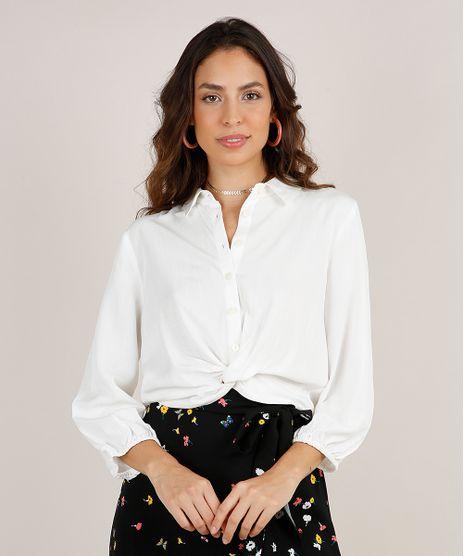 Camisa-Feminina-Cropped-com-No-Manga-3-4-Off-White-9803840-Off_White_1