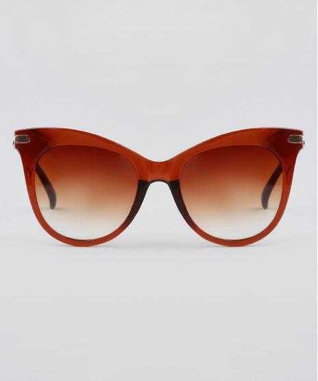 Oculos-de-Sol-Redondo-Feminino-Yessica-Marrom-9911841-Marrom_1