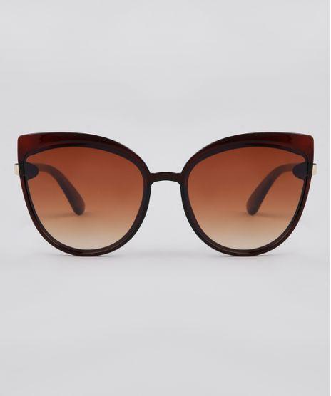 Oculos-de-Sol-Redondo-Feminino-Yessica-Marrom-9900052-Marrom_1