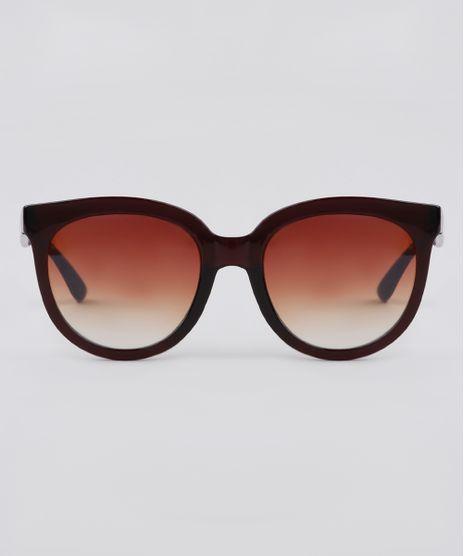 Oculos-de-Sol-Redondo-Feminino-Yessica-Marrom-9911856-Marrom_1