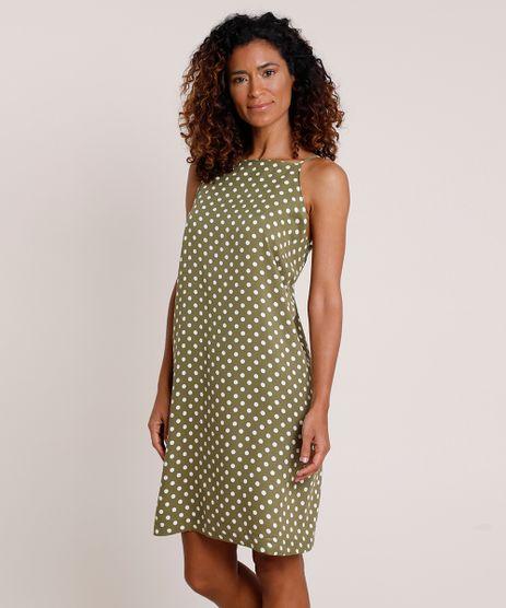 Vestido-Feminino-Curto-Halter-Neck-Estampado-de-Poa-Alca-Fina-Verde-9924987-Verde_1