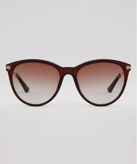 Oculos-de-Sol-Redondo-Feminino-Yessica-Marrom-9932769-Marrom_1