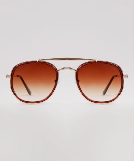Oculos-de-Sol-Redondo-Feminino-Yessica-Dourado-9932825-Dourado_1