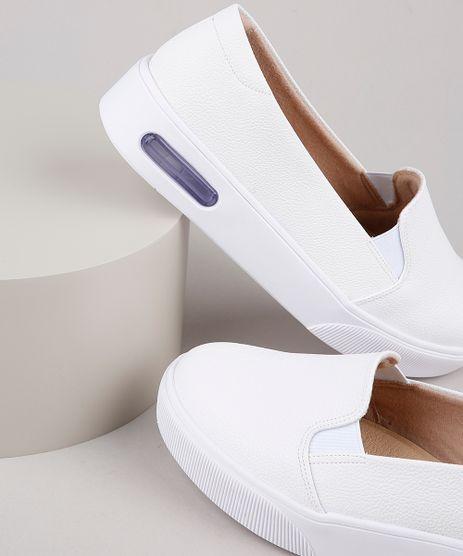 Tenis-Slip-On-Feminino-Modare-Ultra-Conforto-Branco-9904586-Branco_1