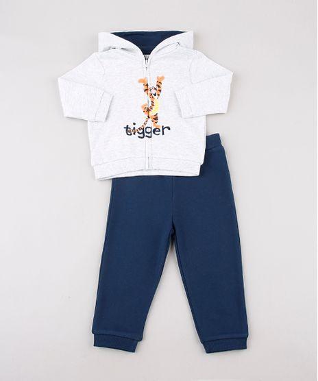 Conjunto-Infantil-Tigrao-de-Blusao-com-Capuz-Cinza-Mescla-Claro---Calca-em-Moletom-Felpado-Azul-Marinho-9685260-Azul_Marinho_1