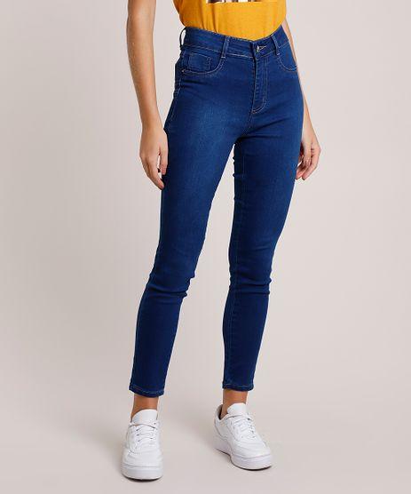 Calca-Jeans-Feminina-Sawary-Super-Skinny-Levanta-Bumbum-Cintura-Alta-Azul-Escuro-9941539-Azul_Escuro_1
