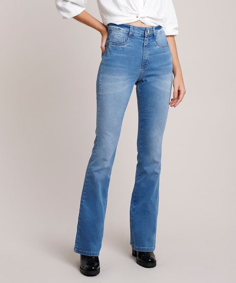 Calca-Jeans-Feminina-Sawary-Flare-Lipo-Cintura-Alta-Azul-Claro-9941556-Azul_Claro_1