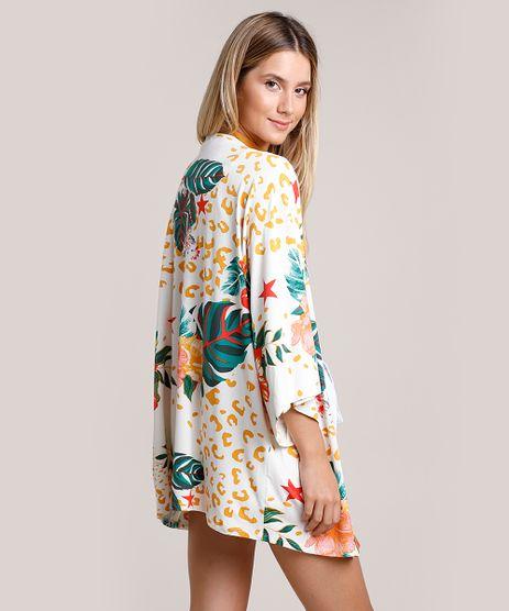 Kimono-Feminino-Estampado-Animal-Print-Onca-com-Flores-Off-White-9884854-Off_White_1