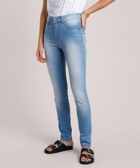 Calca-Jeans-Feminina-Sawary-Super-Skinny-Levanta-Bumbum-Cintura-Alta-Azul-Claro-9941537-Azul_Claro_1