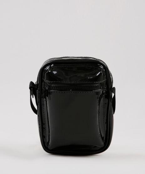 Bolsa-Shoulder-Bag-Unissex-Transversal-Pequena-em-Verniz-Preta-9844805-Preto_1
