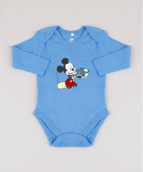 Body-Infantil-Mickey-com-Dinossauros-Manga-Longa-Azul-9917216-Azul_1