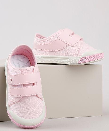 Tenis-Infantil-Pimpolho-com-Velcro-e-Recorte-em-Verniz-Rosa-Claro-9922860-Rosa_Claro_1