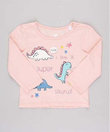 Blusa-Infantil-Dinossauros-com-Glitter-Manga-Longa-Rosa-9895167-Rosa_1