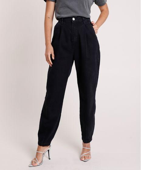 Calca-Jeans-Feminina-Mindset-Slouchy-Cintura-Super-Alta-Preta-9930504-Preto_1
