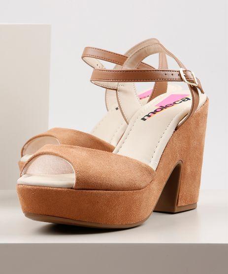 Sandalia-Feminina-Moleca-Plataforma-em-Suede-Caramelo-9846299-Caramelo_1