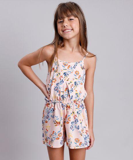 Macaquinho-Infantil-Estampado-Floral-com-Transpasse-Alca-Fina-Rosa-Claro-9805638-Rosa_Claro_1
