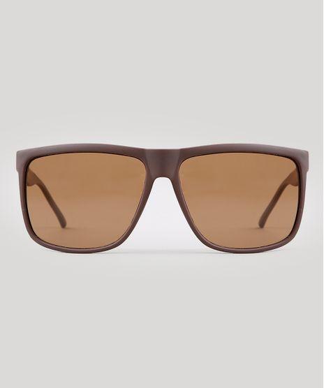 Oculos-de-Sol-Quadrado-Infantil-Oneself-Marrom-9932863-Marrom_1