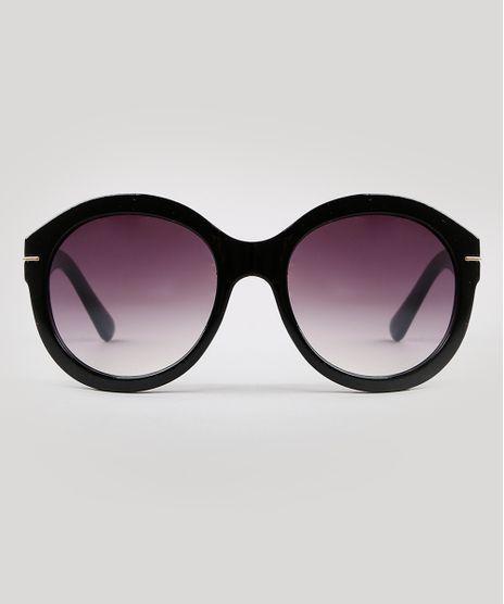 Oculos-de-Sol-Redondo-Feminino-Yessica-Preto-9932141-Preto_1