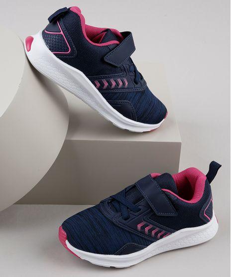 Tenis-Infantil-Esportivo-Running-com-Micro-Furos-e-Velcro-Azul-Marinho-9828816-Azul_Marinho_1