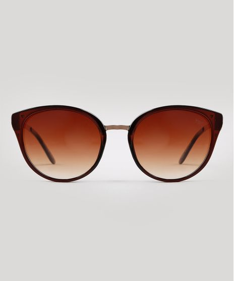 Oculos-de-Sol-Redondo-Feminino-Yessica-Marrom-9932816-Marrom_1