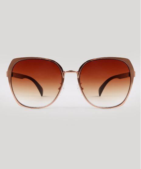 Oculos-de-Sol-Redondo-Feminino-Yessica-Marrom-9932763-Marrom_1