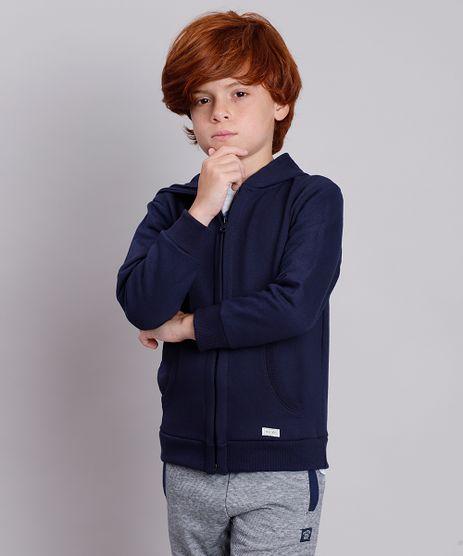 Blusao-Infantil-Basico-em-Moletom-com-Capuz-e-Bolso-Azul-Marinho-8521449-Azul_Marinho_1